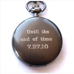 Our Engraved Pocket watches make the perfect gift for Father's Day, Groomsmen, Grooms, Birthdays, Anniversaries and so much more! What a great way to remember your first father's day with a pocket watch engraved with a monogram and date. Wedding Gifts For Men, Gifts For Fiance, Diy Gifts For Boyfriend, Gifts For Father, Fathers, Trendy Wedding, Wedding Favors, Wedding Venues, Wedding Tux