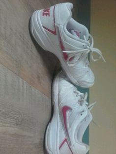 Basket de Sport Nike Blanche-Rose