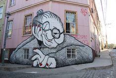 St-Étienne, vous connaissez surement les fresques murales d'Ella&Pitr. https://blogueurenserie.files.wordpress.com/2014/11/ella-et-pitr-2.jpg