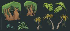Scott Gwynn - Character Design Page Jungle Art, Scene Design, Character Design, Environment Props, Game Art, Illustration Art, Art, Environmental Art, Vector Art