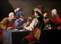 _Theodoor Rombouts Card Players