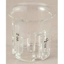 EZ Step Jigger, Acrylic by Harold Import Company, Inc.. $4.63. Stepped measure levels at 1/2, 1, 1-1/2 and 2 ounces. Endless uses in the bar, kitchen or garage. Clear acrylic construction. Measured steps visible from top and sides. EZ to use, EZ to read. The EZ Read clear acrylic Jigger features stepped measure levels at 1/2, 1, 1-1/2 and 2 ounces, visible from the top and the side. The easy to use and easy to read jigger will come in handily in the bar, kitchen or garag...