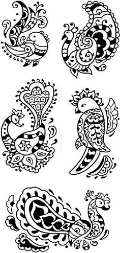 Henna Designs bird - Google Search