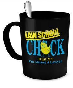 Law School Chick Mug  #gift#LawStudent #LawSchool $19.95
