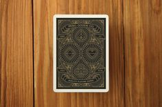 Custom playing cards by Pedale design