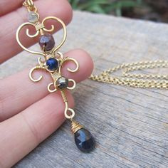 Love Spirits  Erzule Freda Necklace  Wire by ElementsArtifacts, $48.00