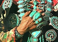 If only I had a native american grandmother who planned to will me her amazing turquoise...
