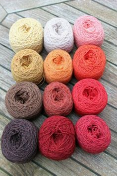 #ChristelSeyfarth Kleurige wol van Christel Seyfarth