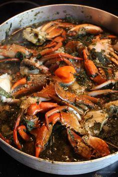 Lalo de pattes de porc et crabe