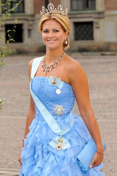 Princess Madeleine of Sweden - Wedding Of Crown Princess Victoria & Daniel Westling - Banquet - Arrivals...<3