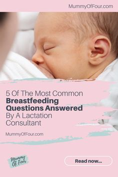 Breastfeeding is supposed to be a natural thing. While it is the most natural thing in the world, it does not necessarily come naturally to . So Many Questions, Lactation Consultant, Most Common, Newborn Babies, Question And Answer, Parenting Hacks, Breastfeeding, Mothers, Journey