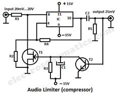 mini audio compressor audio pinterest audio diy electronics rh pinterest com DIY Amplifier Schematic Urei 1176 Schematic