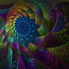 Rainbow Vortex by anjaleck on DeviantArt