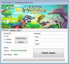 Real Followers, Farm Hero Saga, Hack Tool, Tech, Facts, Game, Button, Instagram, Gaming