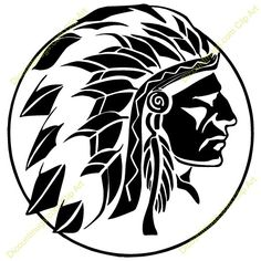 Native American Images, Native American Design, American Indian Art, Indian Chief Tattoo, Native Tattoos, Fall Clip Art, Arte Tribal, American Tattoos, Skull Art