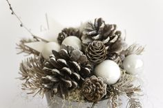 Christmas table decor Holiday centerpiece Christmas by florasense