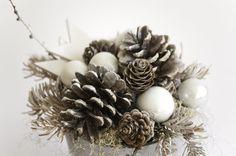 Christmas table decor Holiday centerpiece Christmas by florasense
