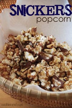 You know we love our popcorn!