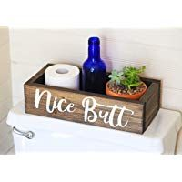online shopping for Nice Butt Bathroom Decor Box - Toilet Paper Holder - Farmhouse Rustic! from top store. See new offer for Nice Butt Bathroom Decor Box - Toilet Paper Holder - Farmhouse Rustic! Funny Bathroom Decor, Bathroom Wall Art, Bathroom Humor, Bathroom Sets, Bathroom Things, Bathroom Storage, Bathroom Organization, Bathroom Designs, Bathroom Wallpaper