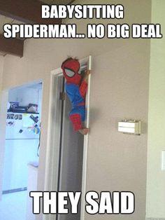 Babysitting Spiderman No Big Deal