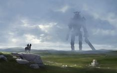 Shadow of the Colossus. (Fan Art) 1920x1200 - Imgur