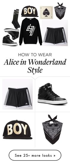 """[Jacey] Dance practice #8"" by deaththeghoul on Polyvore featuring adidas, Avenida Home and BOY London"