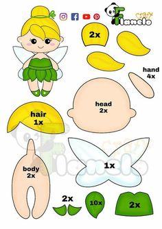 Felt Doll Patterns, Felt Animal Patterns, Felt Crafts Patterns, Plushie Patterns, Stuffed Animal Patterns, Loom Patterns, Felt Dolls, Paper Dolls, Sock Dolls