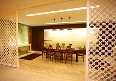 Sala de Jantar, de Ana Beatriz Murad para a Casa Cor Maranhão. Veja outras ideias de decoração no WebCasas: http://www.webcasas.com.br/revista/
