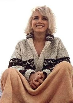 I AM NOW OFFERING FOR THE LADIES A REPLICA OF A SWEATER WORN BY MARILYN MONROE
