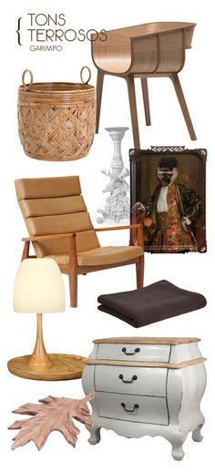 O charme dos tons terrosos. Veja: http://www.casadevalentina.com.br/blog/materia/tons-terrosos--como-usar.html #decor #design #decoracao #objects #objetos #produtos #casadevalentina
