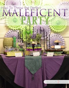 Make Disney's Maleficent Come To Life With Your Own Maleficent Premier Party!