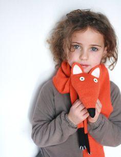 Bufanda de zorro  zorro bufanda  bufanda Animal  por TreMelarance