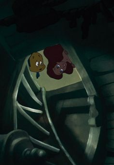 Flounder: this is really dangerous, you know. Ariel: I love dangerous things!