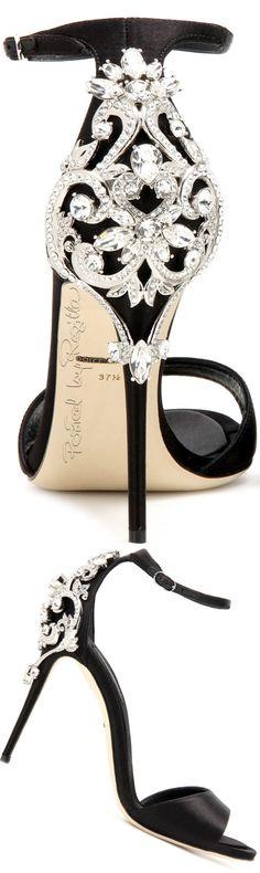 Dolce & Gabbana ~ Black embellished Heels 2016