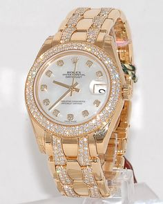 A Golden, Luxury, Exclusive Rolex Watch. Did you liked it? For more inspirational and luxury products visit http://www.bocadolobo.com/en/inspiration-and-ideas/category/luxury-lifestyle/