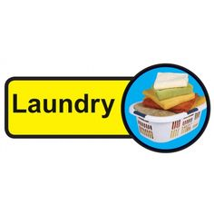 Laundry Room Dementia Sign, help people with dementia and sight problems by displaying these 'Laundry Room Dementia' signs around your premises, they assist in maintaining their independence, just peel off the backing strip and stick to your doors. Signs Of Dementia, Laundry Room Doors, Plastic Signs, Laundry Signs, Sign Materials, Fire Safety, Types Of Doors, Door Signs, Sign Design