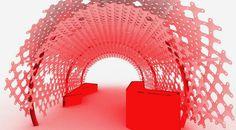 Red walkway