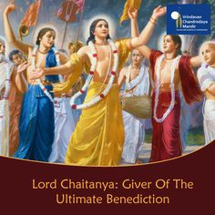 Lord Chaitanya is the absolute truth, the Supreme Personality of Godhead. Read here why he is the giver of the ultimate benediction - http://bit.ly/LordChaitanya-thegiver #GauraPurnima