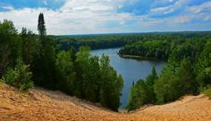 Au Sable River at Foote Pond overlook