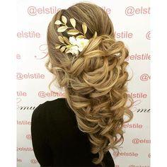 wedding hair at @elstile | свадебная причёска в @elstile #elstile #эльстиль…