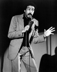 Richard Pryor--I remember sneaking & listening to his albums--funny & profound.