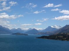 On the road to Glenorchy, NZ.  One of the most beautiful places I have ever been.