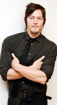 Norman Reedus. Ugly name. Don't matter.