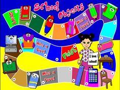 School Objects - Borad Game