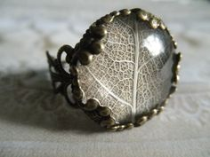 Victorian Rustic Bronze Filigree White by giftforallseasons
