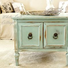 Milk Paint meets Chalk Paint - White Lace Cottage