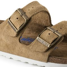 Arizona Suede Leather Soft footbed Sand