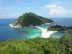 Schildkröten Insel in Thailand
