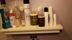 Organize your bathroom on a budget Pt. 1