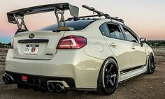 Subaru WRX Sti performing with sporty, so many consumers are approached because adrift in terms of body and elegant look. Subaru Impreza Sti, Colin Mcrae, Japanese Sports Cars, Import Cars, Modified Cars, Jdm Cars, Amazing Cars, Custom Cars, Cool Cars